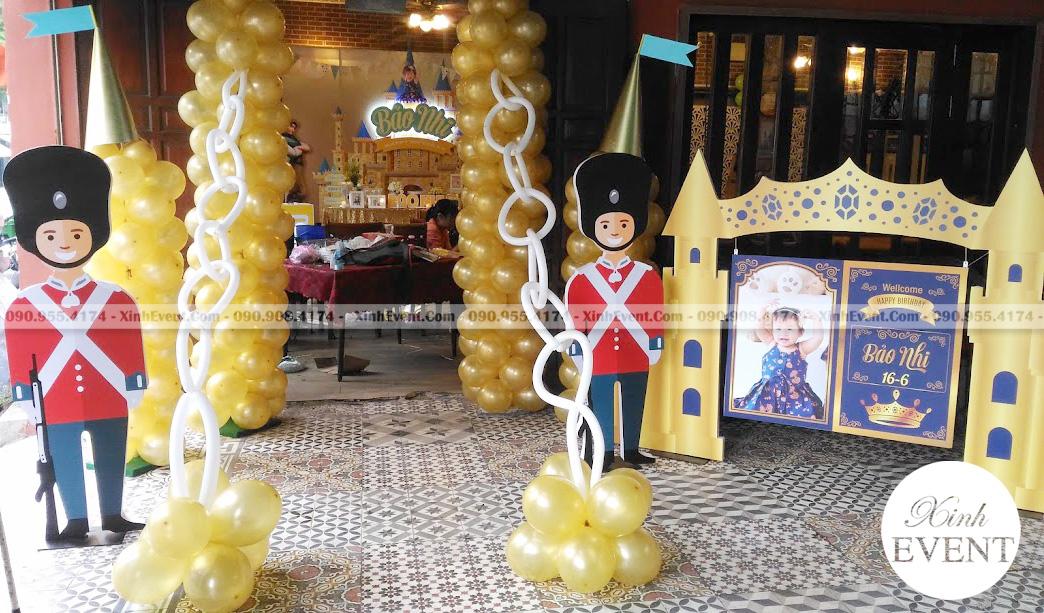 Cổng chào sinh nhật chú lính chì XV018