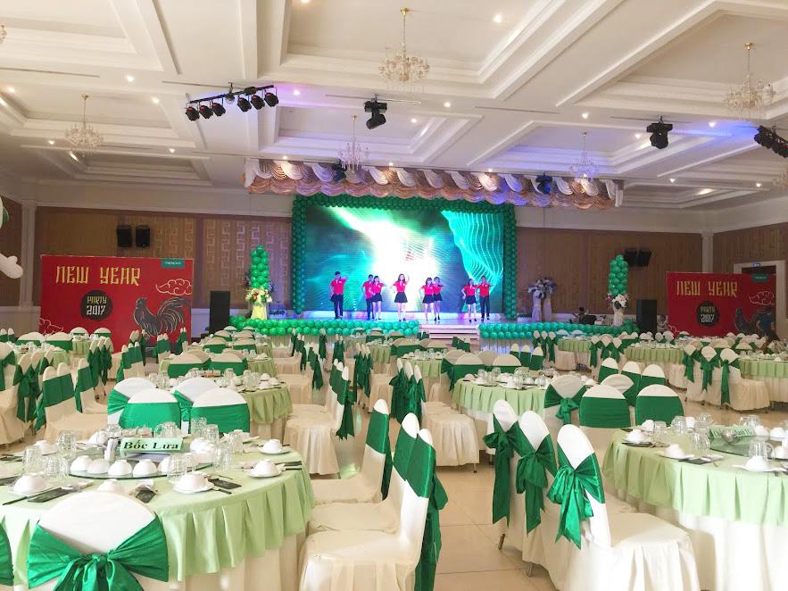 Sân khấu tổ chức sự kiện tại Xinh Event