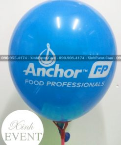 Bong bóng in logo thương hiệu công ty Anchor XV004