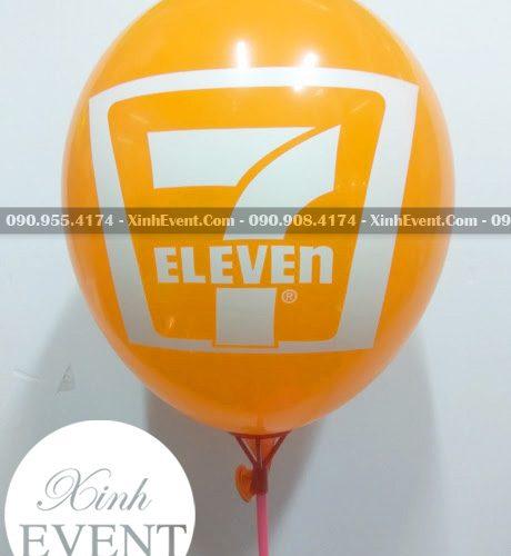 Bong bóng in logo cửa hàng 7 Eleven XV006