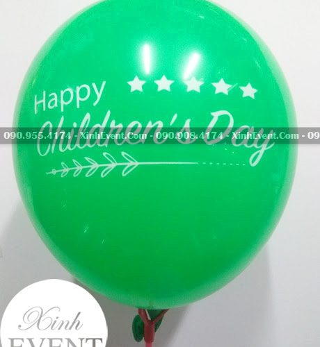 Bong bóng in mừng sự kiện Happy Children's Day XV007