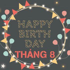 Tổ chức sinh nhật trọn gói tháng 8 với khuyến mãi