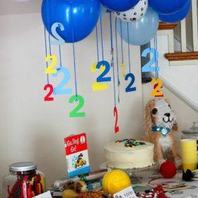 Cách trang trí sinh nhật tại nhà bằng bong bóng