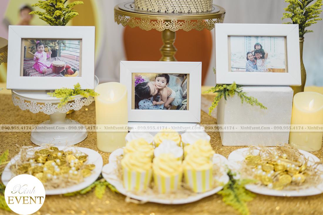 Tổ chức sinh nhật cho bé Lâm châu anh 1 tuổi - MAX01-013