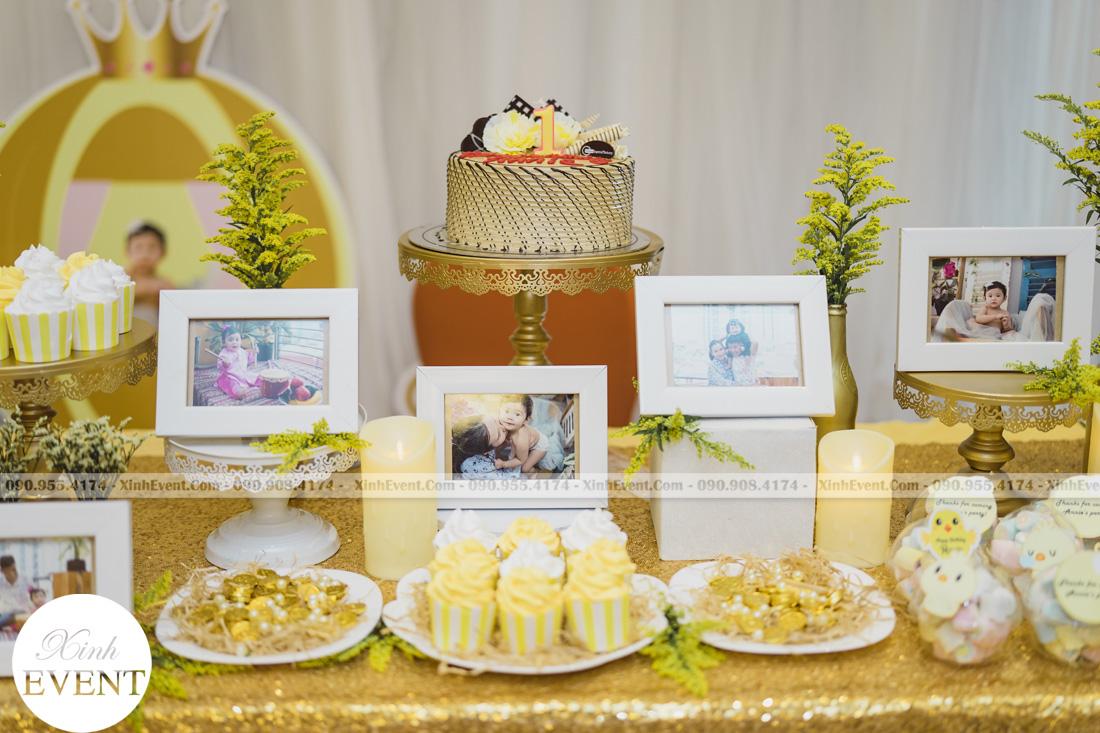 Tổ chức sinh nhật cho bé Lâm châu anh 1 tuổi - MAX01-017