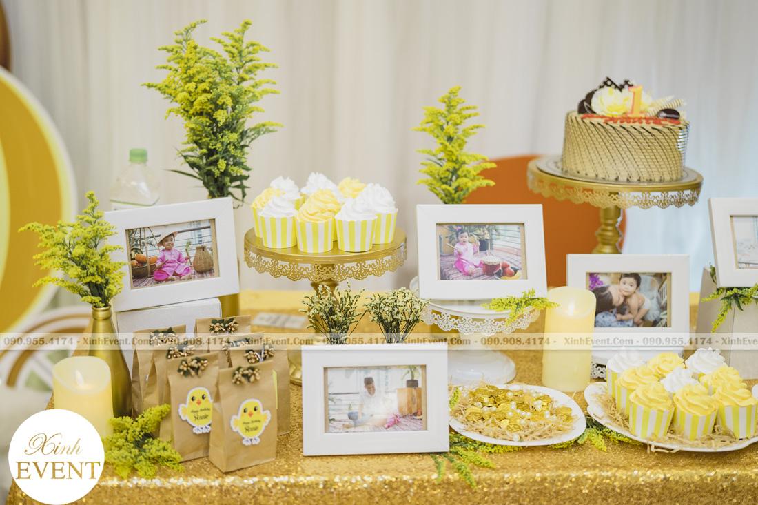 Tổ chức sinh nhật cho bé Lâm châu anh 1 tuổi - MAX01-023