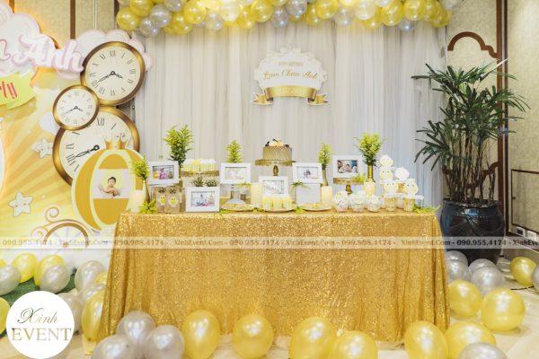 Tổ chức sinh nhật cho bé Lâm châu anh 1 tuổi - MAX01-028