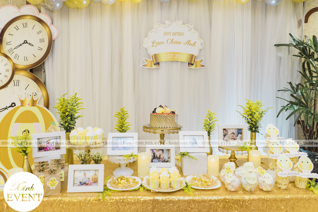 Tổ chức sinh nhật cho bé Lâm châu anh 1 tuổi - MAX01-029