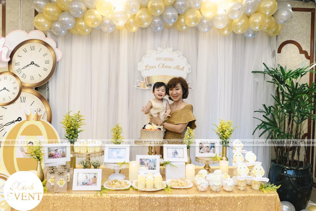 Tổ chức sinh nhật cho bé Lâm châu anh 1 tuổi - MAX01-064