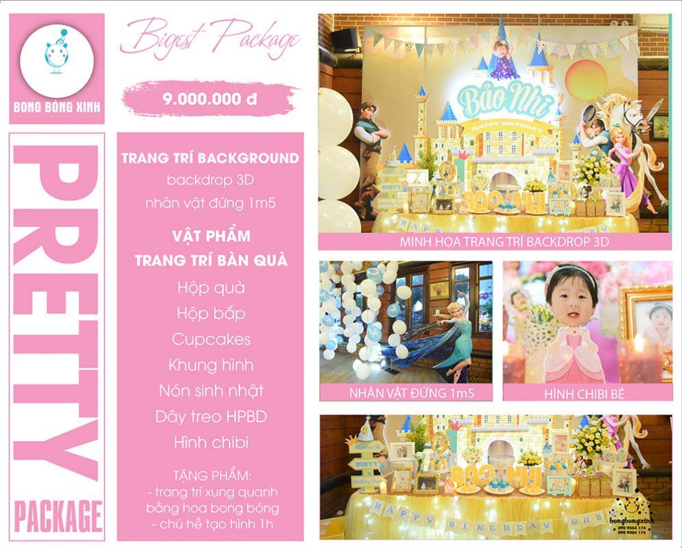 Tổ chức sinh nhật trọn gói PRETTY03