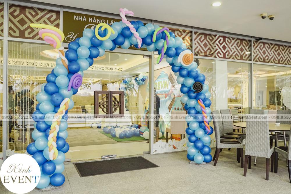 Cổng chào trang trí sinh nhật chủ đề hải dương MAX02 - 002