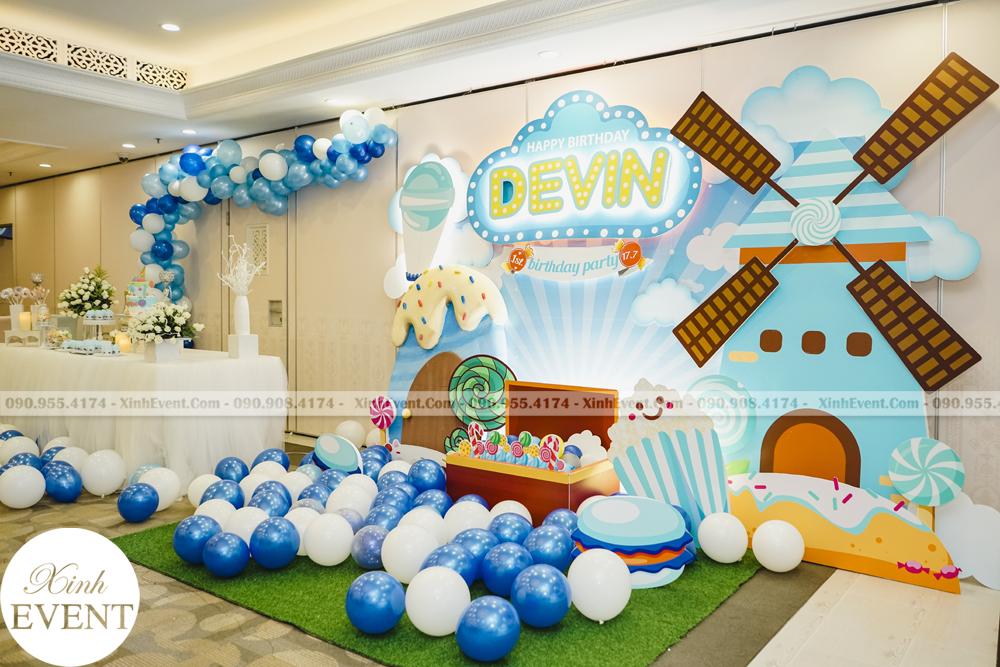 Tổ chức sinh nhật trọn gói cho bé Devin MAX02 - 003