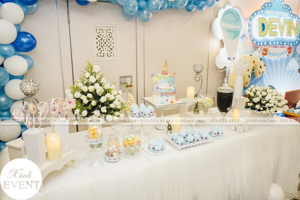 Tổ chức sinh nhật trọn gói cho bé Devin MAX02 - 009