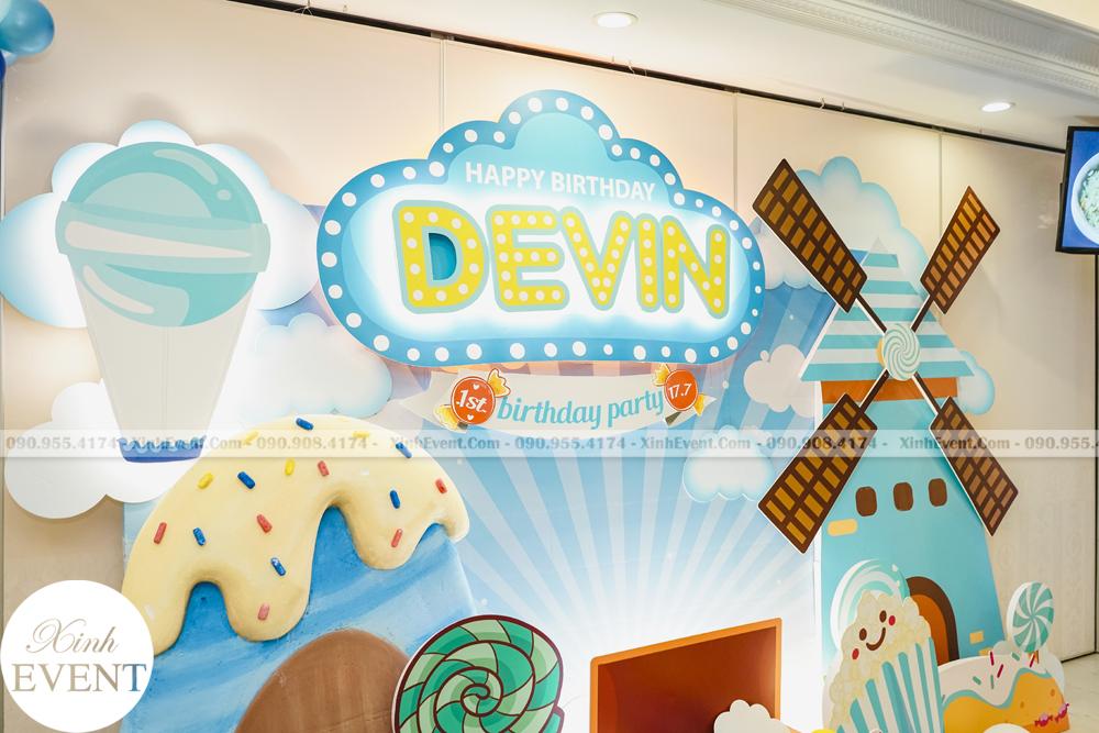 Tổ chức sinh nhật trọn gói cho bé Devin MAX02 - 012