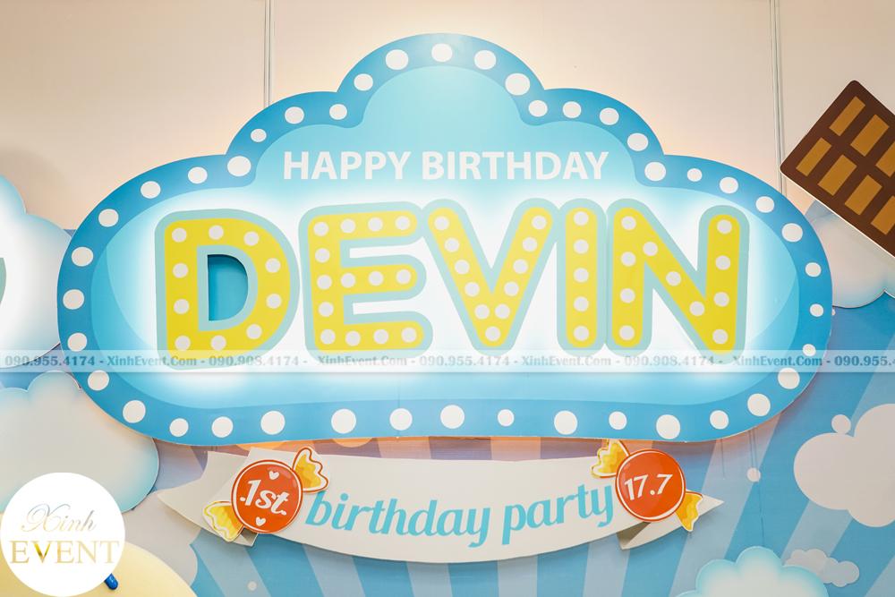 Tổ chức sinh nhật trọn gói cho bé Devin MAX02 - 013
