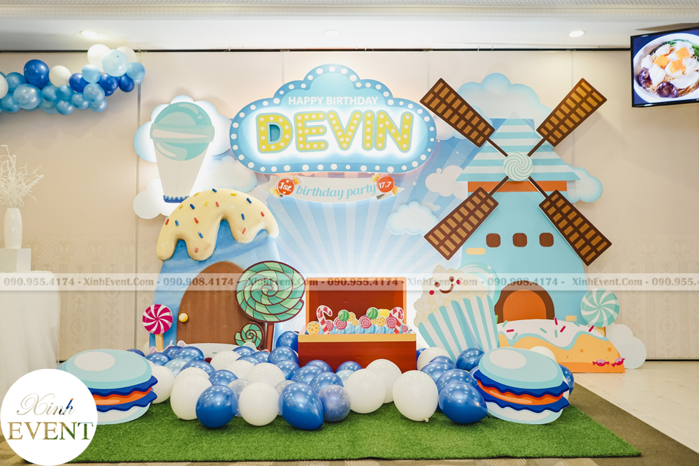 Tổ chức sinh nhật trọn gói cho bé Devin MAX02 - 014