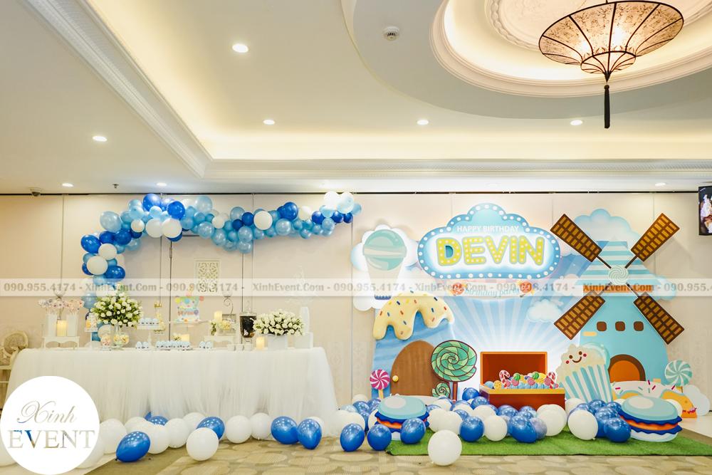 Tổ chức sinh nhật trọn gói cho bé Devin MAX02 - 017