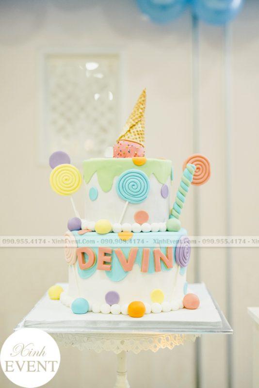 bánh kem sinh nhật cho bé Devin MAX02 - 019