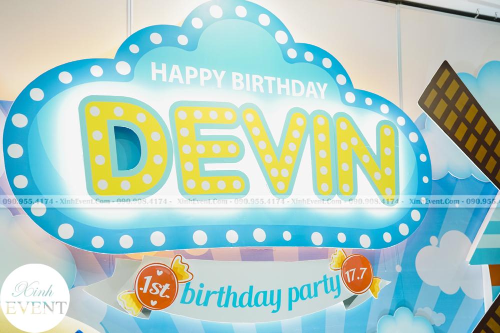 Tổ chức sinh nhật trọn gói cho bé Devin MAX02 - 033