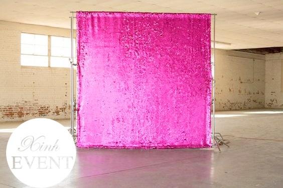 backdrop khai trương hồng kim sa XV043