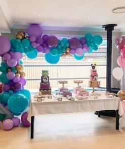 Trang trí bàn sinh nhật theo chủ đề công chúa Jasmine XV060