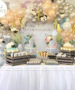 Bàn quà sinh nhật và sự kiện sang trọng XV061