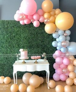 Bàn sinh nhật bong bóng Mỹ phong cách đơn giản XV068