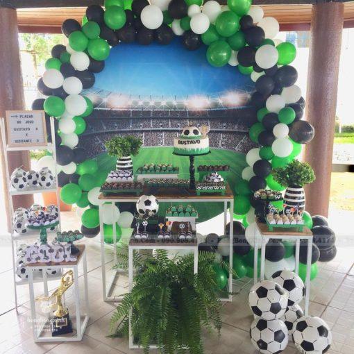 Trang trí bàn sinh nhật chủ đề bóng đá XV069
