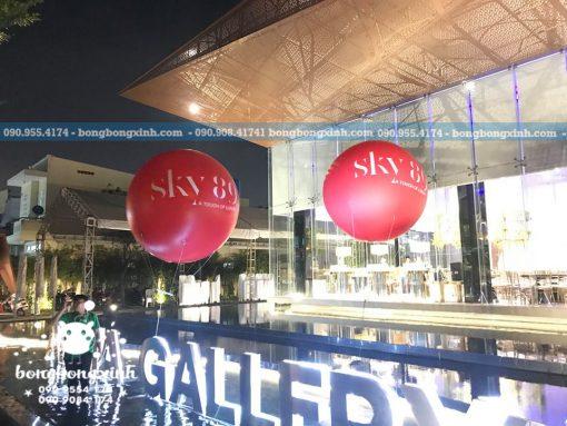 khinh khí cầu quảng cáo sự kiện XV090