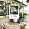 Backdrop cưới khung hình XV086
