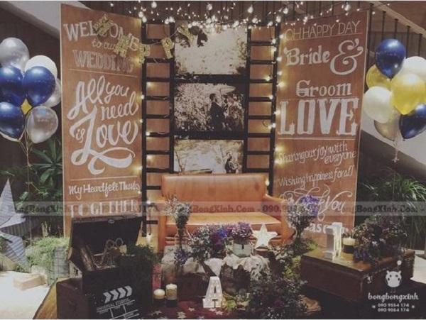 Backdrop tiệc cưới My Love XV072