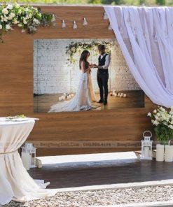 Backdrop tiệc cưới phong cách Bohemian XV082