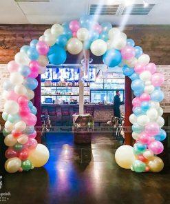 Cổng chào sự kiện nhiều màu xinh đẹp XV073