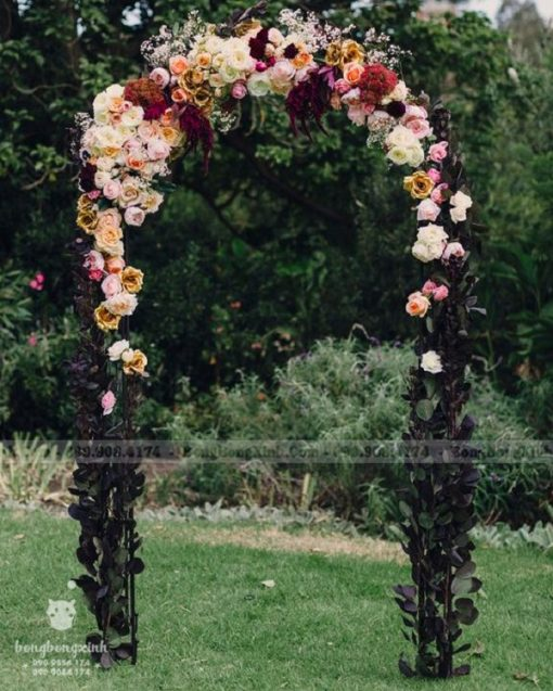 Cổng chào tiệc cưới hoa mái vòm XV084