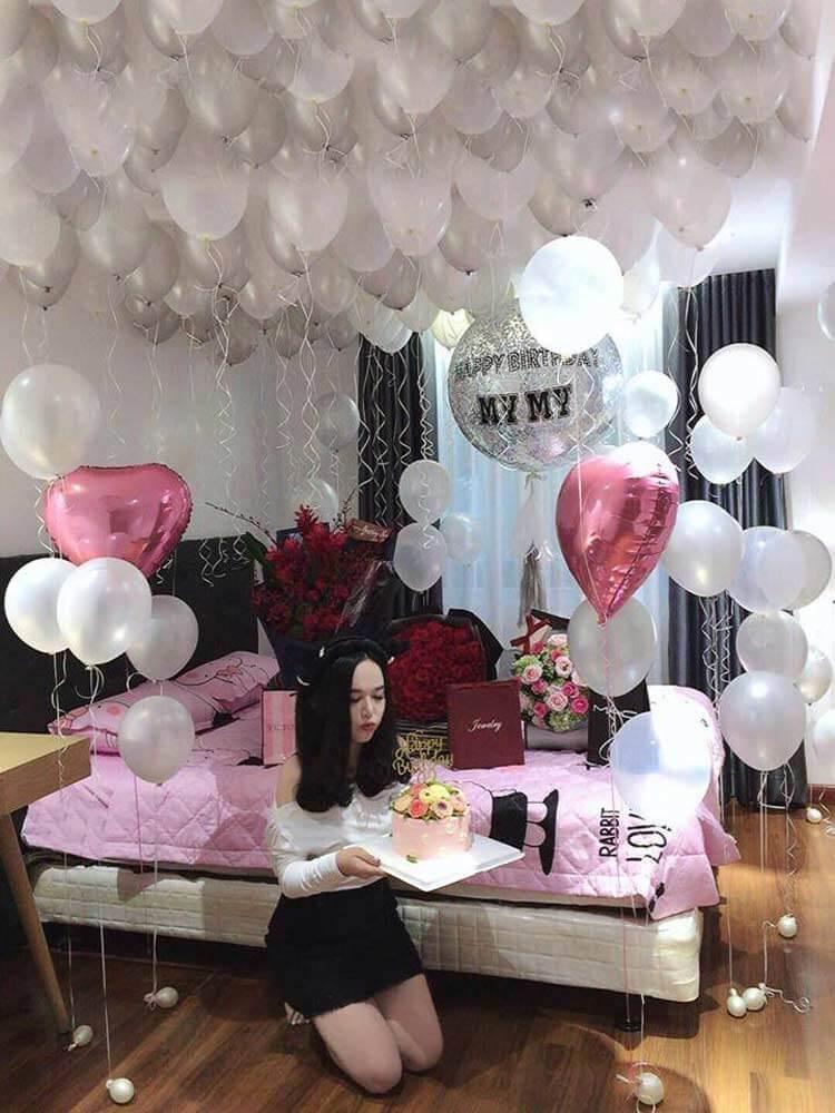 Phụ kiện tổ chức sinh nhật người yêu đơn giản cho người yêu