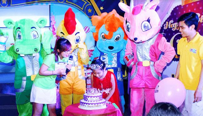 Tổ chức sinh nhật tại khu vui chơi tiNiWorld