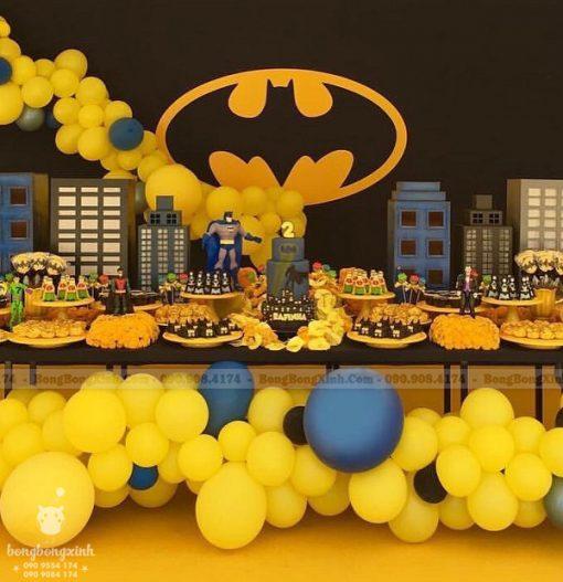 Bàn quà sinh nhật theo chủ đề BATMAN XV071