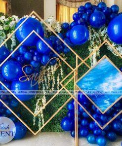 backdrop sinh nhật bong bóng XV091