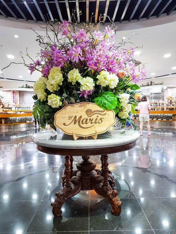 Nhà hàng tổ chức sinh nhật tại TPHCM D'maris
