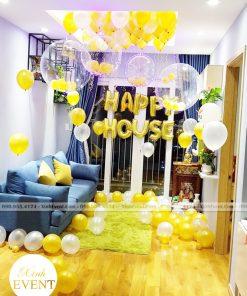 Bộ bóng bay sinh nhật trang trí phòng khách XV130