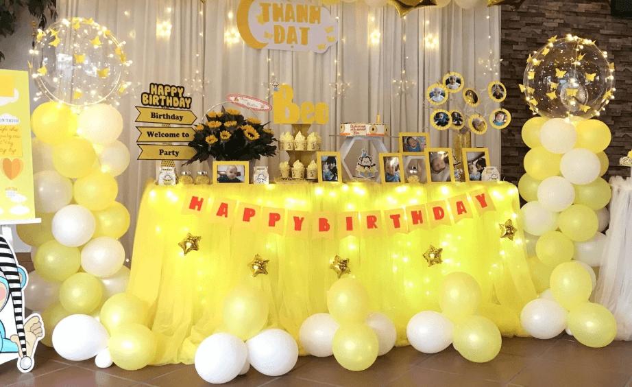 cách thổi bong bóng jumbo trang trí sinh nhật cùng bóng cao su