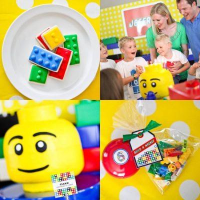 Cách trang trí sinh nhật cho bé với chủ đề lego
