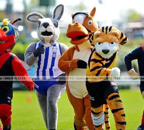 Cho thuê mascot đa dạng giá tốt tại TPHCM XV232
