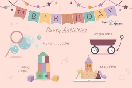 Dịch vụ tổ chức sinh nhật 1 tuổi cho bé từ A đến Z