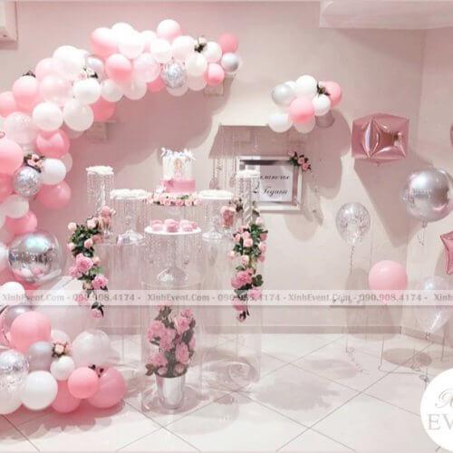 Mẫu sinh nhật màu hồng dành tặng người yêu bất ngờ XV222