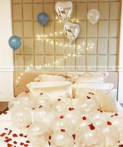 Trang trí bong bóng sinh nhật lãng mạn mà đơn giản tại nhà XV158