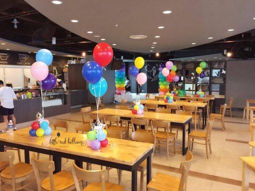 Xinh Event cung cấp bóng bay sinh nhật trang trí bàn ăn XV206