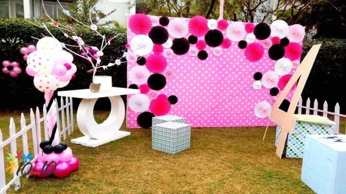 8+ Các cách trang trí sinh nhật cho bé bố mẹ cần lưu ý