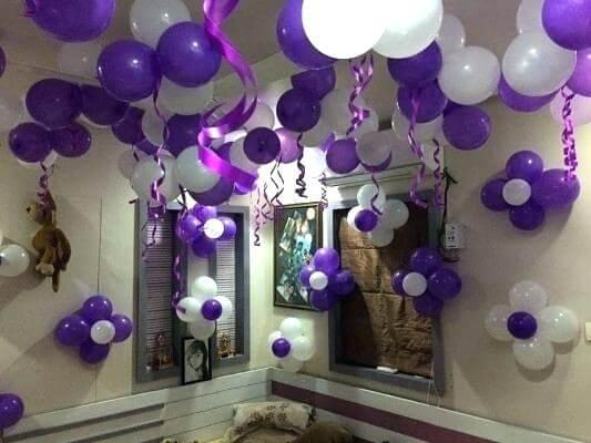 Tổng hợp cách thổi bong bóng chuẩn bị cho 1 buổi tiệc sinh nhật đơn giản
