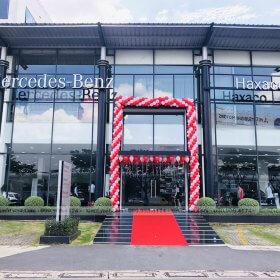Event ra mắt sản phẩm mới tại Mercedes